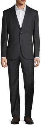 HUGO BOSS Classic-Fit Pinstriped Wool Suit