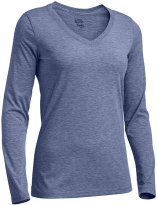 Eastern Mountain Sports Ems Women's Techwick Vital Long-Sleeve V-Neck T-Shirt