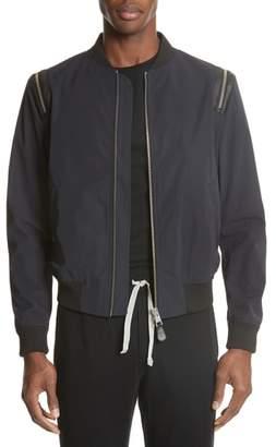 The Kooples Zip Sleeve Jacket
