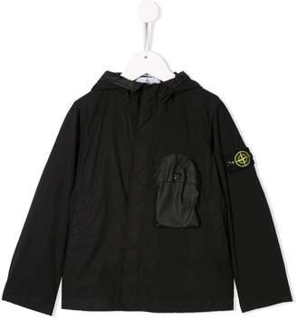 Stone Island Junior hooded jacket