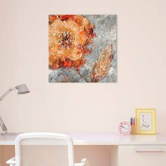 Amanti Art Ashanti I Floral Canvas Wall Art