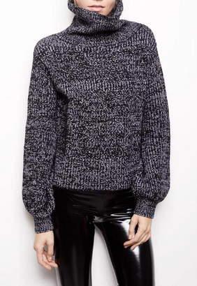 Generation Love Simone Lace Up Sweater