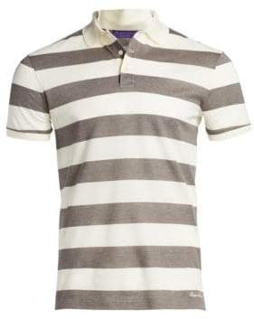 Ralph Lauren Purple Label Short Sleeve Polo Shirt