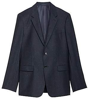 Theory Men's Bowen Chambers Classic-Fit Wool & Silk Suiting Jacket