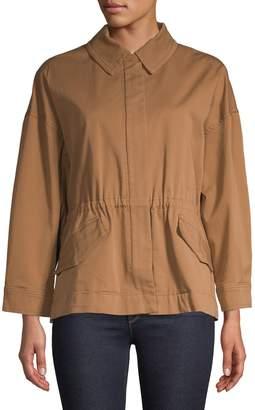 Max Mara Classic Stretch-Cotton Jacket