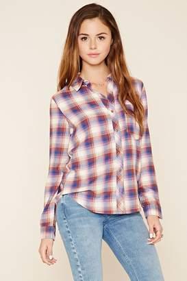 Forever 21 Tartan Plaid Shirt