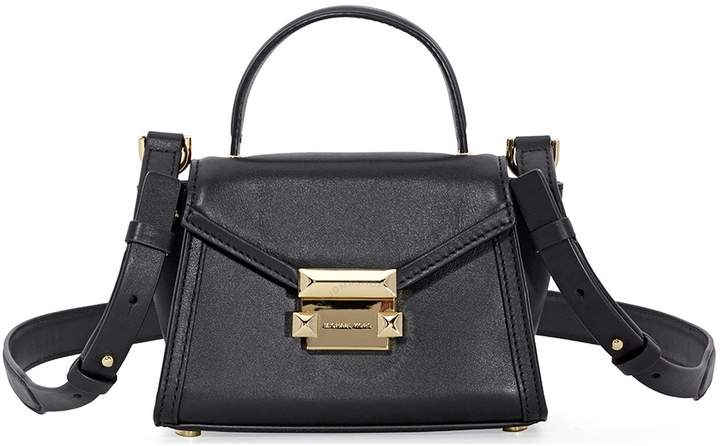 Michael Kors Whitney Mini Leather Satchel - Black - ONE COLOR - STYLE