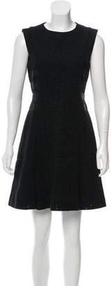 Versus Eyelet Mini Dress
