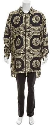 Edward Crutchley Silk Oversize Shirt