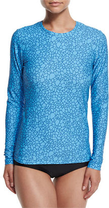 Cover Perfect UPF 50 Long-Sleeve Swim Tee $120 thestylecure.com