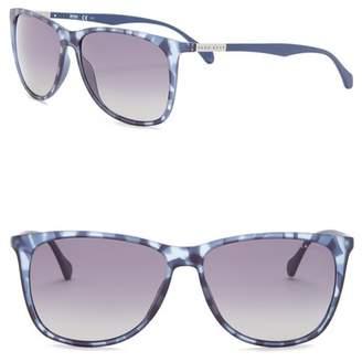 BOSS Polarized 58mm Sunglasses