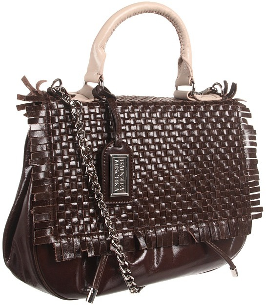 Badgley Mischka Willow Top Handle (Coffee) - Bags and Luggage