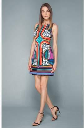 Hale Bob Solyn Jersey Sleeveless Dress