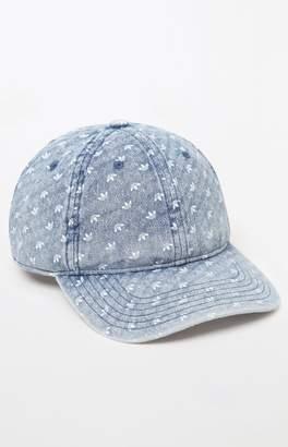 adidas Monogram Denim Strapback Dad Hat