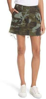 Nili Lotan Ilona Camouflage Miniskirt