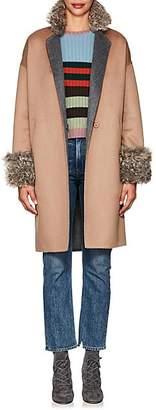 Xo Barneys Colombo Women's Double-Faced Cashmere Coat - Camel