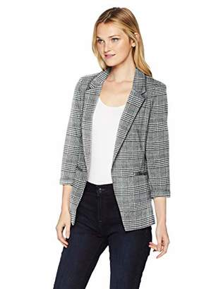 Amy Byer A. Byer Junior's Young Woman's Teen Knit Ponte Blazer