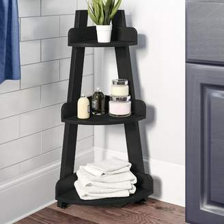 "Zipcode Design Clemente 13"" W x 34"" H Bathroom Shelf"