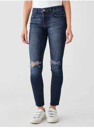 DL1961 Florence Ankle Mid Rise Skinny | Mitchell