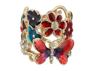 GUESS Butterfly Flower Ring