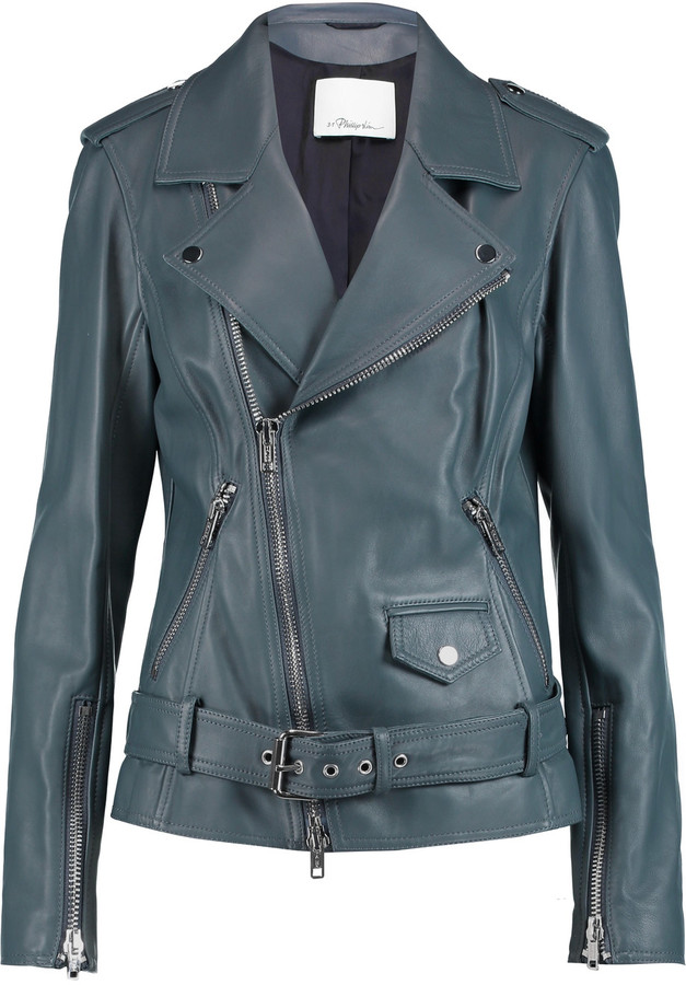 3.1 Phillip Lim 3.1 Phillip Lim Belted leather biker jacket