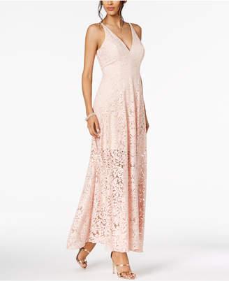Xscape Evenings Illusion Lace A-Line Gown