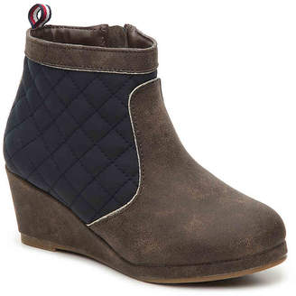 Tommy Hilfiger Cate Toddler & Youth Wedge Boot - Girl's