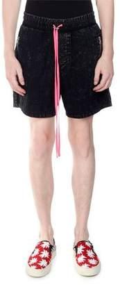 1b53e7c514 Amiri Black Men's Athletic Shorts - ShopStyle