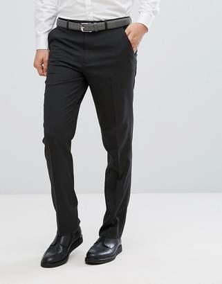 Asos Design DESIGN slim smart pants in charcoal