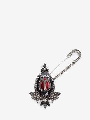 Alexander McQueen Beetle Brooch