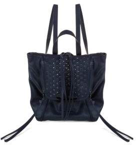 Bobbi Mini Studded Backpack $298 thestylecure.com