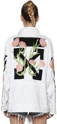M65 Embroidered Canvas Field Jacket $1,811 thestylecure.com