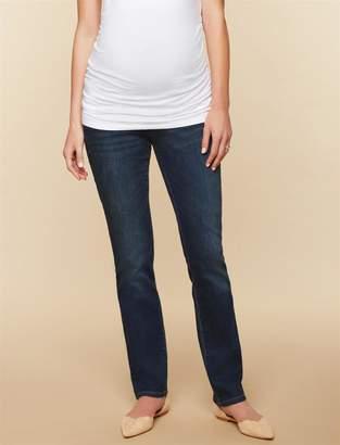 Motherhood Maternity Tall Secret Fit Belly Stretch Straight Leg Maternity Jeans