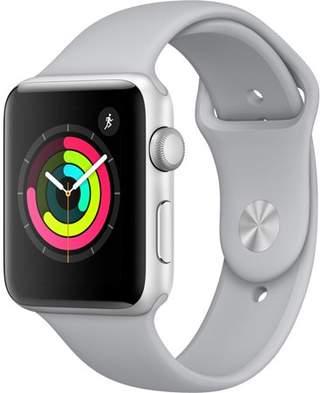 Watch Series 3 42mm Apple GPS Silver Aluminum Case Fog Sport Band MQL02LL/A