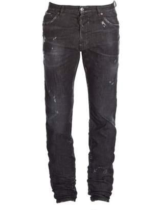 DSQUARED2 Mercury Distressed Graffiti Jeans