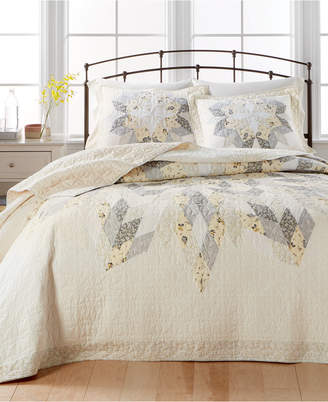Martha Stewart Collection Closeout! Collection Starburst Twin Bedspread