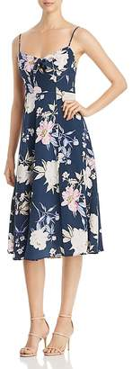 Yumi Kim Sweetheart Floral-Print Midi Dress
