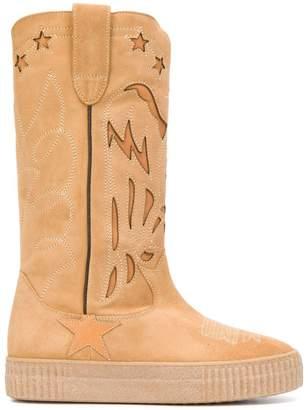 Golden Goose mid calf flat boots