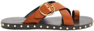 Isabel Marant Jonya stud-embellished leather sandals