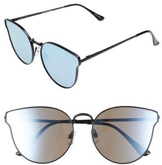 Quay Australia 'All My Love' 60mm Retro Sunglasses $55 thestylecure.com