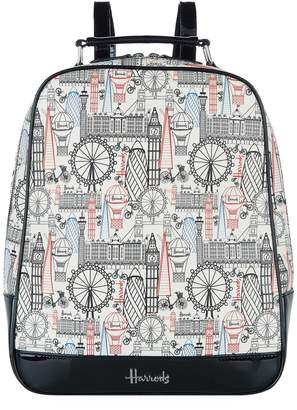 Harrods Balloons And Bicycles Backpack