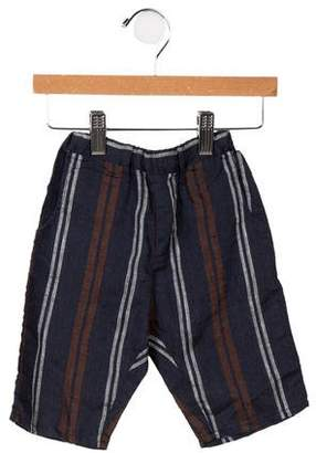 Violeta e Federico Boys' Striped Linen Pants w/ Tags