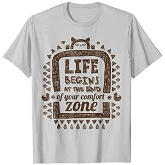 NOMAD Life begins at the end of your comfort zone T-Shirt