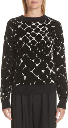 Marc Jacobs Boulder Print Cashmere Blend Sweater