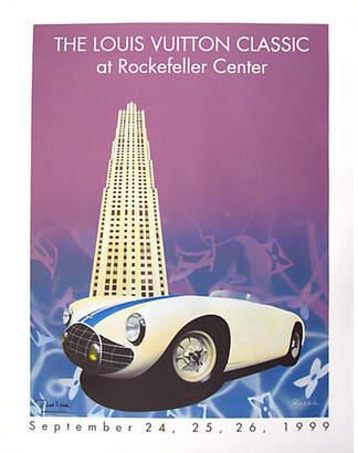 One Kings Lane Vintage Original Louis Vuitton Car Show Poster - Vintage European Posters Art