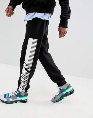 Charms Charm's Joggers In Black With Side Stripe Logo