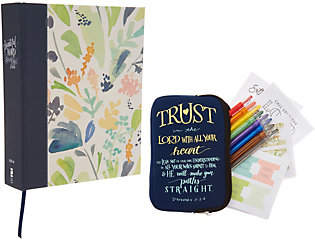 Harper Collins Beautiful Word Large Print Coloring BibleArt Set