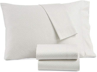 Lucky Brand Kashmir Cotton Sateen 230-Thread Count 3-Pc. Printed Twin Xl Sheet Set, Created for Macy's Bedding