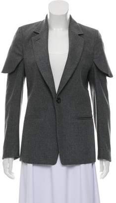 Maison Margiela Wool Single-Button Blazer
