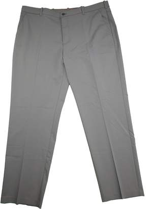 Izod Stretch Flex Chino Flat Front Straight Pant, 42W 32L